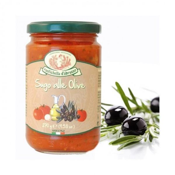 Sauce aux olives noires